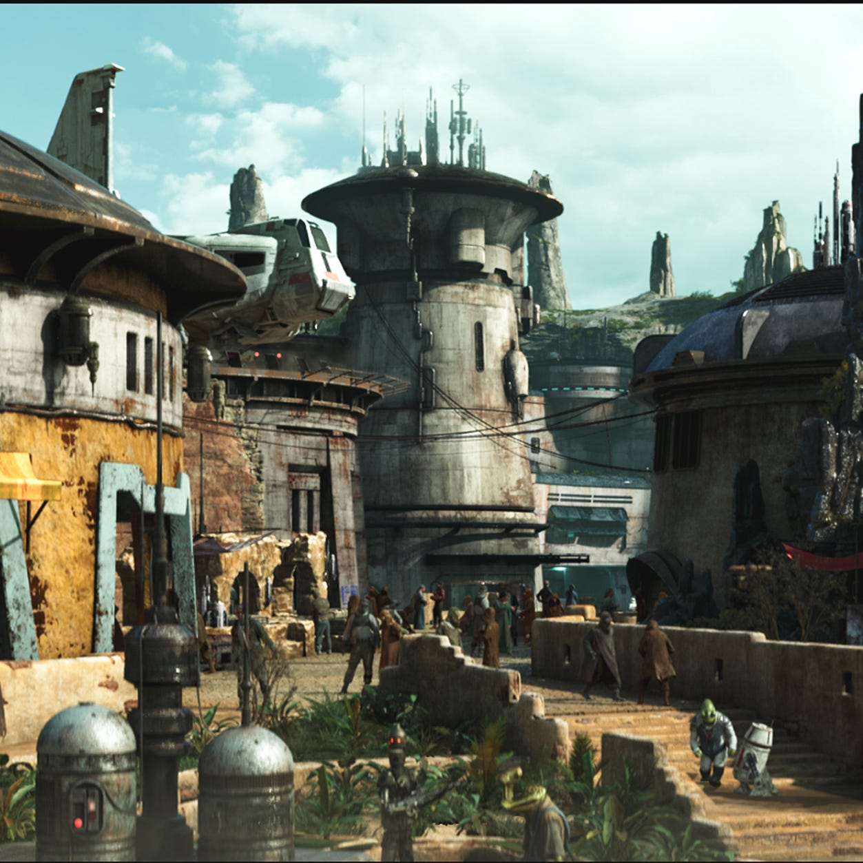Reservations for Disney's Star Wars land are now available. Here's how to get yours