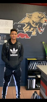 Jalen Daniels after enrolling at Red Mountain.