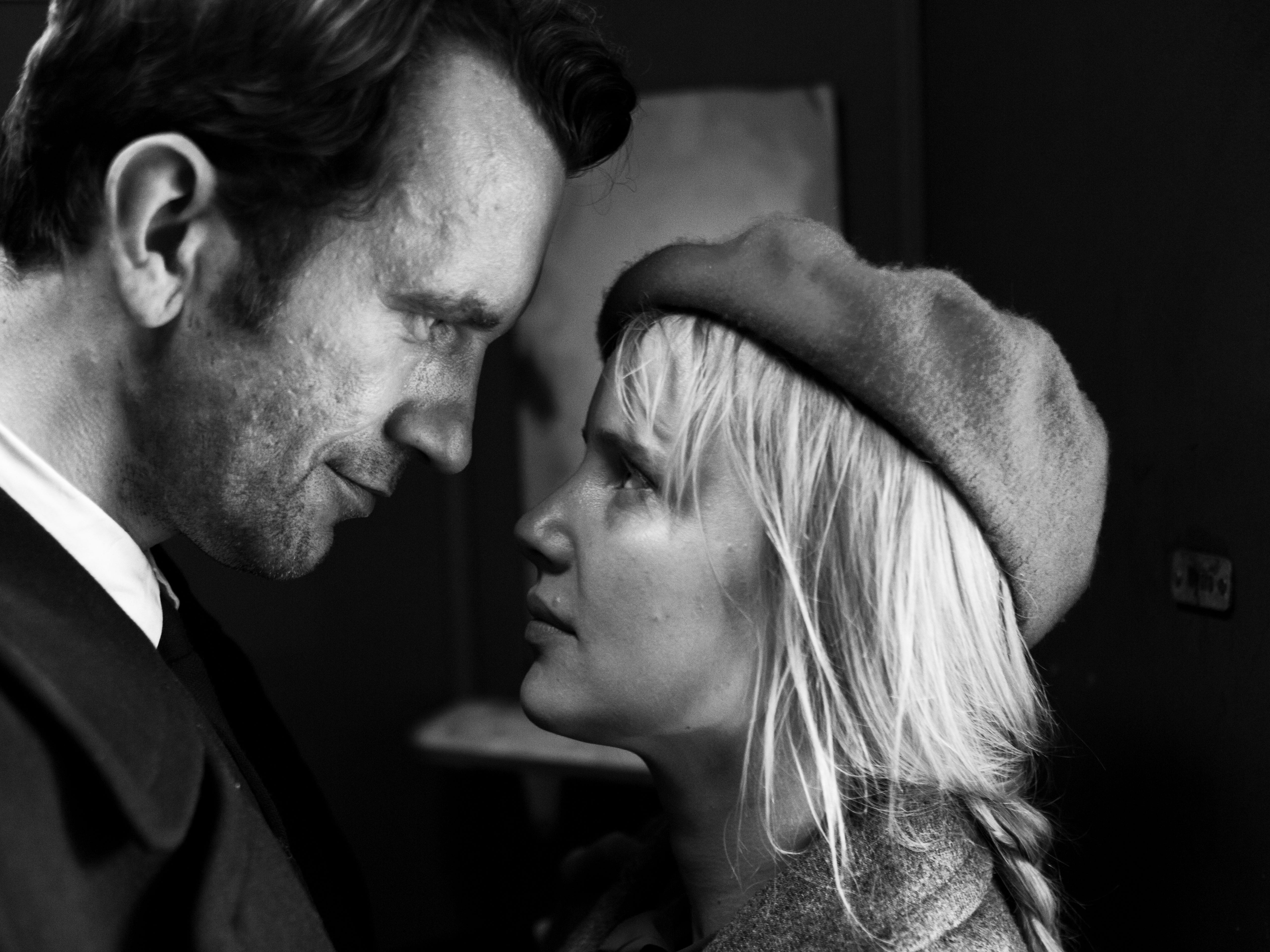 """Tomasz Kot and Joanna Kulig star in """"Cold War."""" From the review: """"Its meditations on what might have been and what could never be haunt long after the gutting final frame."""" (four stars)"""