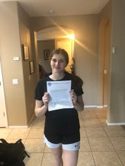 Valley Vista freshman Jennah Isai was invited to compete for a spot on the USA Basketball U16 team.