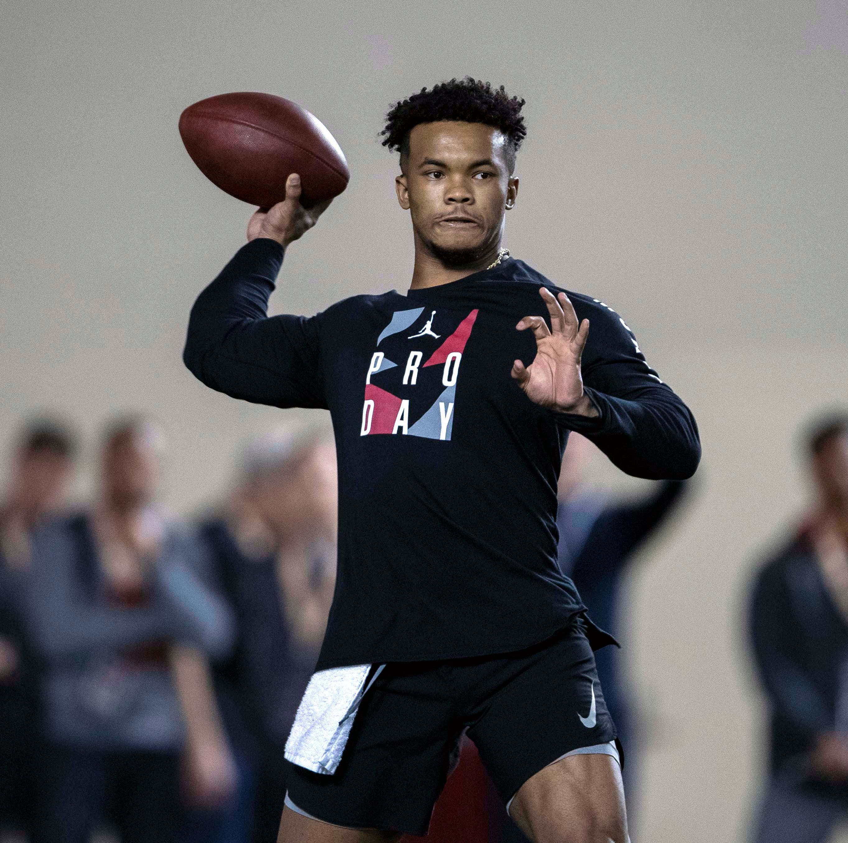 Oklahoma quarterback Kyler Murray answers more NFL draft questions at Pro Day