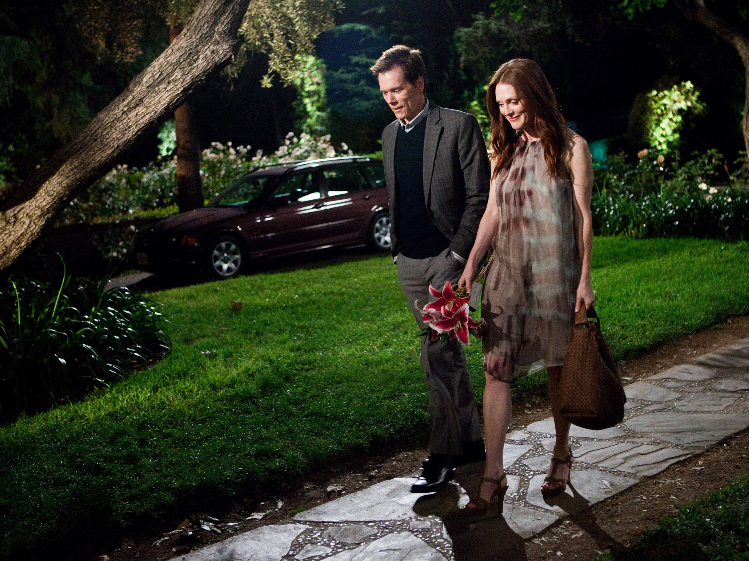 """Kevin Bacon and Julianne Moore in """"Crazy, Stupid Love."""""""