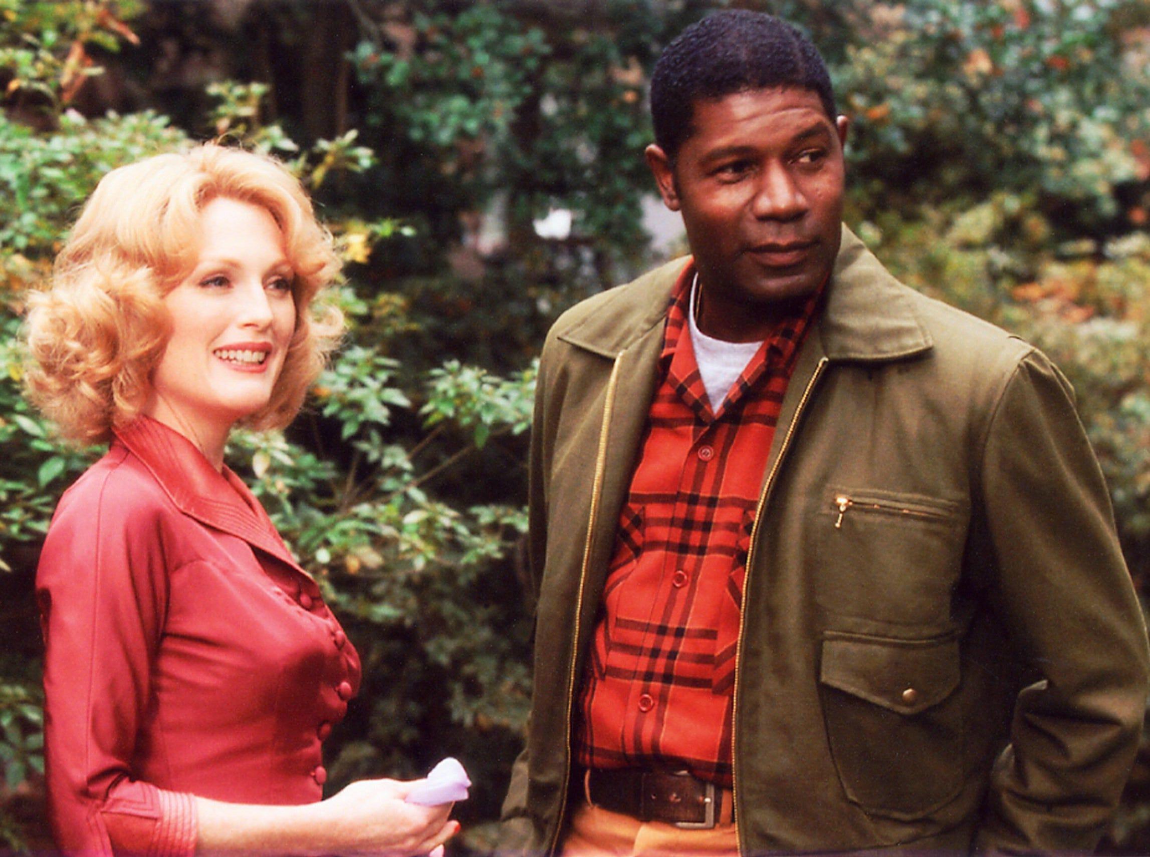 """Julianne Moore and Dennis Haysbert in """"Far From Heaven."""""""