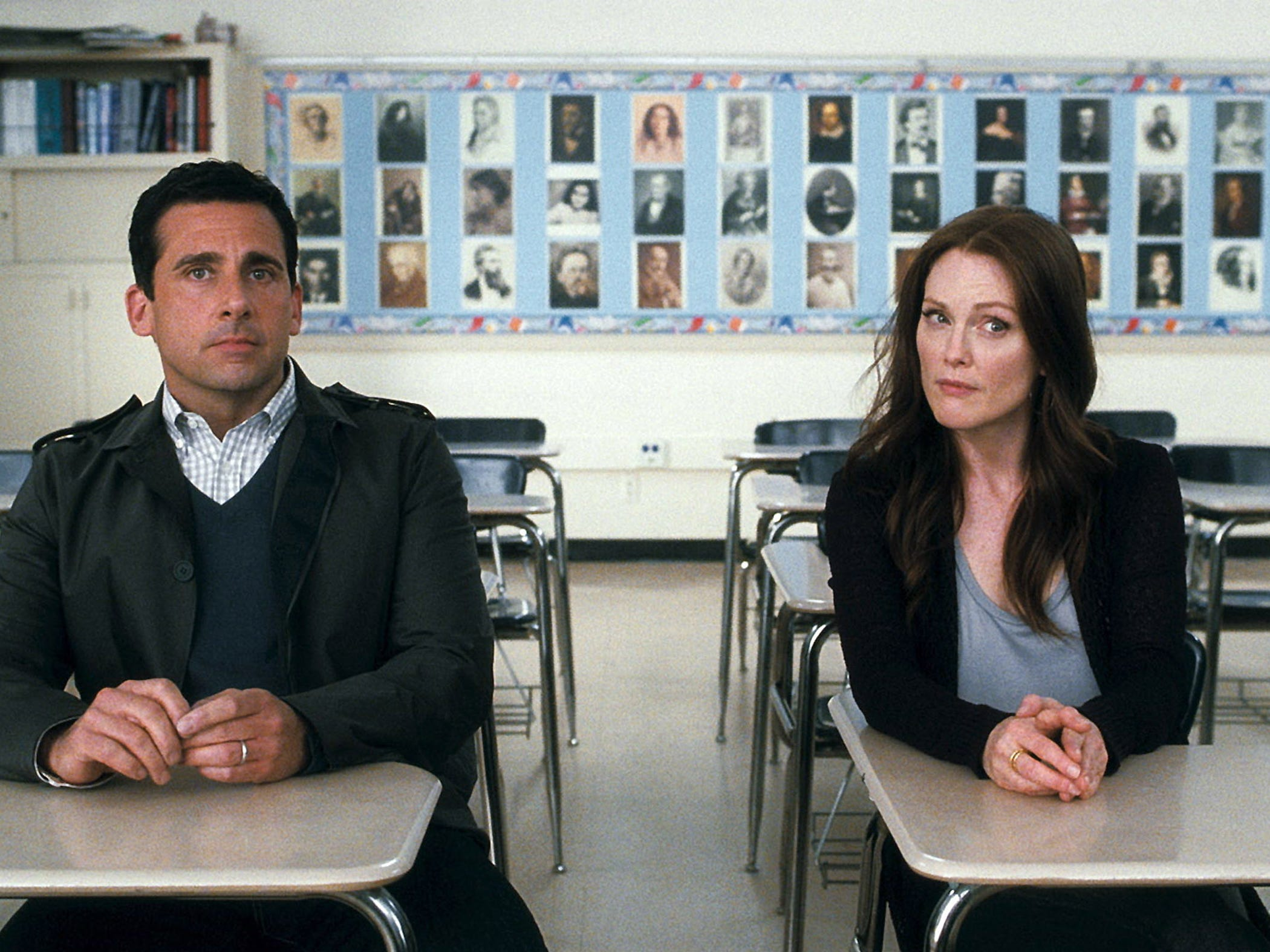 """Steve Carell and Julianne Moore in """"Crazy, Stupid Love."""""""