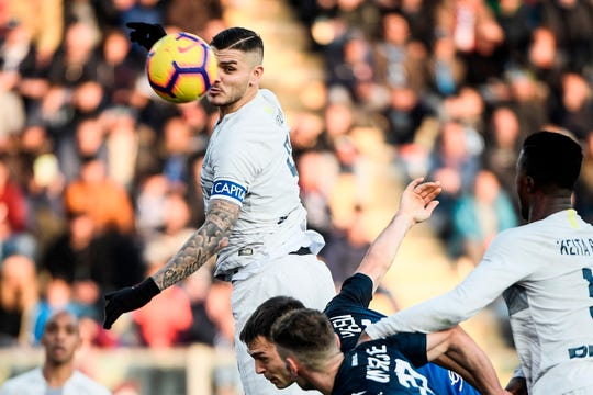 Mauro Icardi es referente del ataque del Inter de Milan.