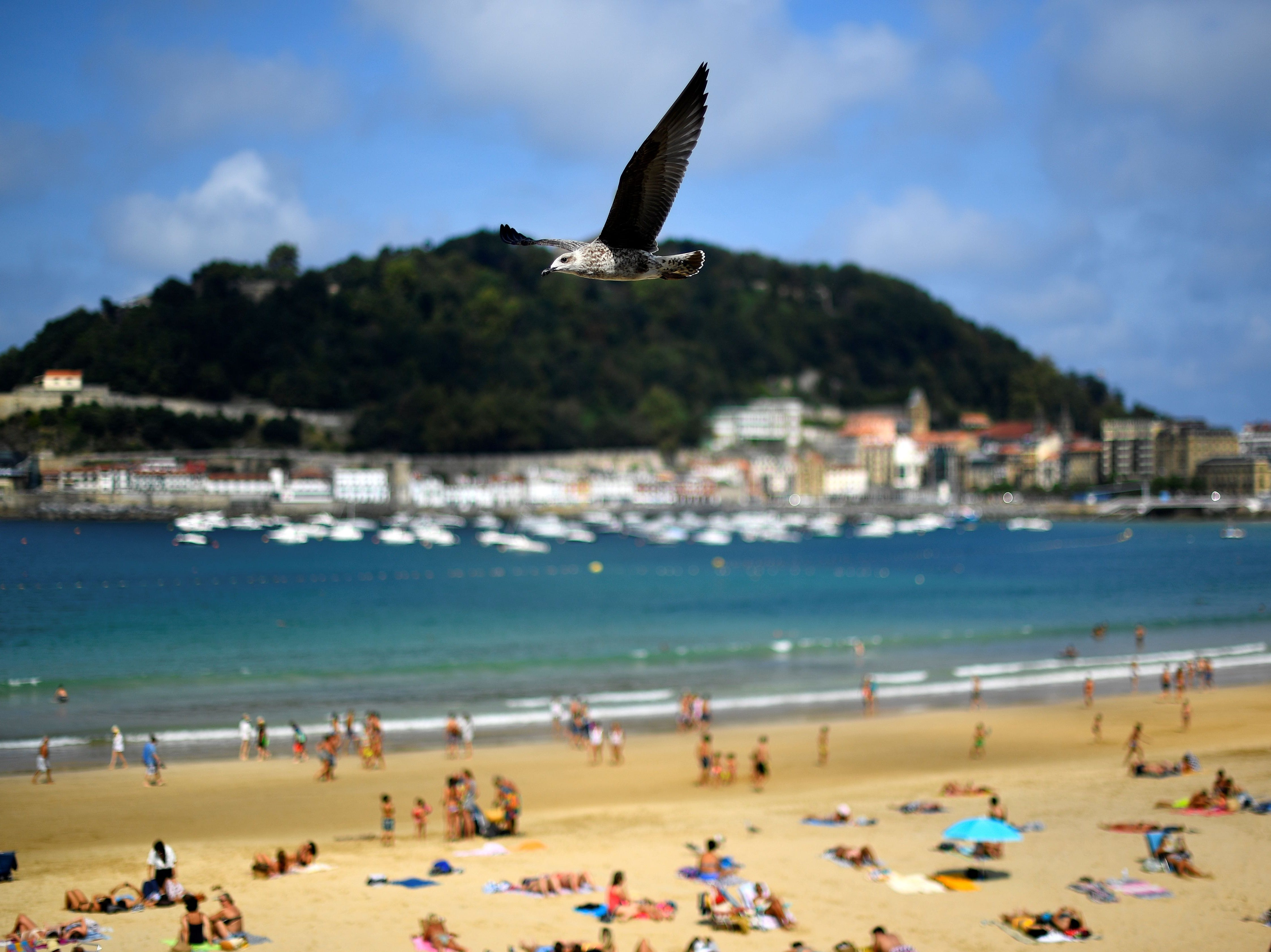 Donostia-San Sebastián se colocó como la playa favorita de Europa en este nuevo conteo.