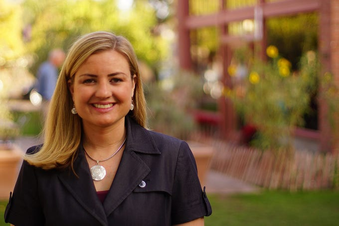 Kate Gallego The Republic Kate Gallego is running for the Phoenix City Council seat in District 8. Photo courtesy of her campaign.