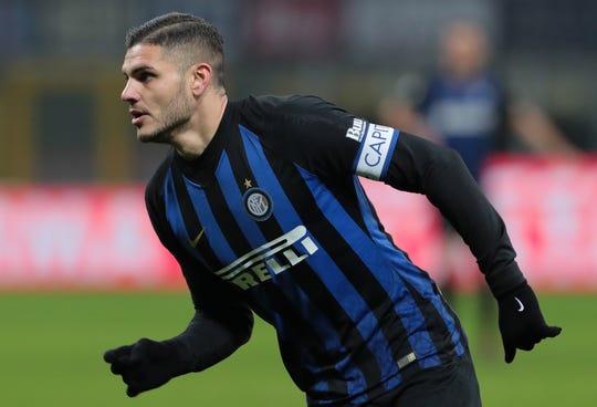 Mauro Icardi, estrella del Inter.