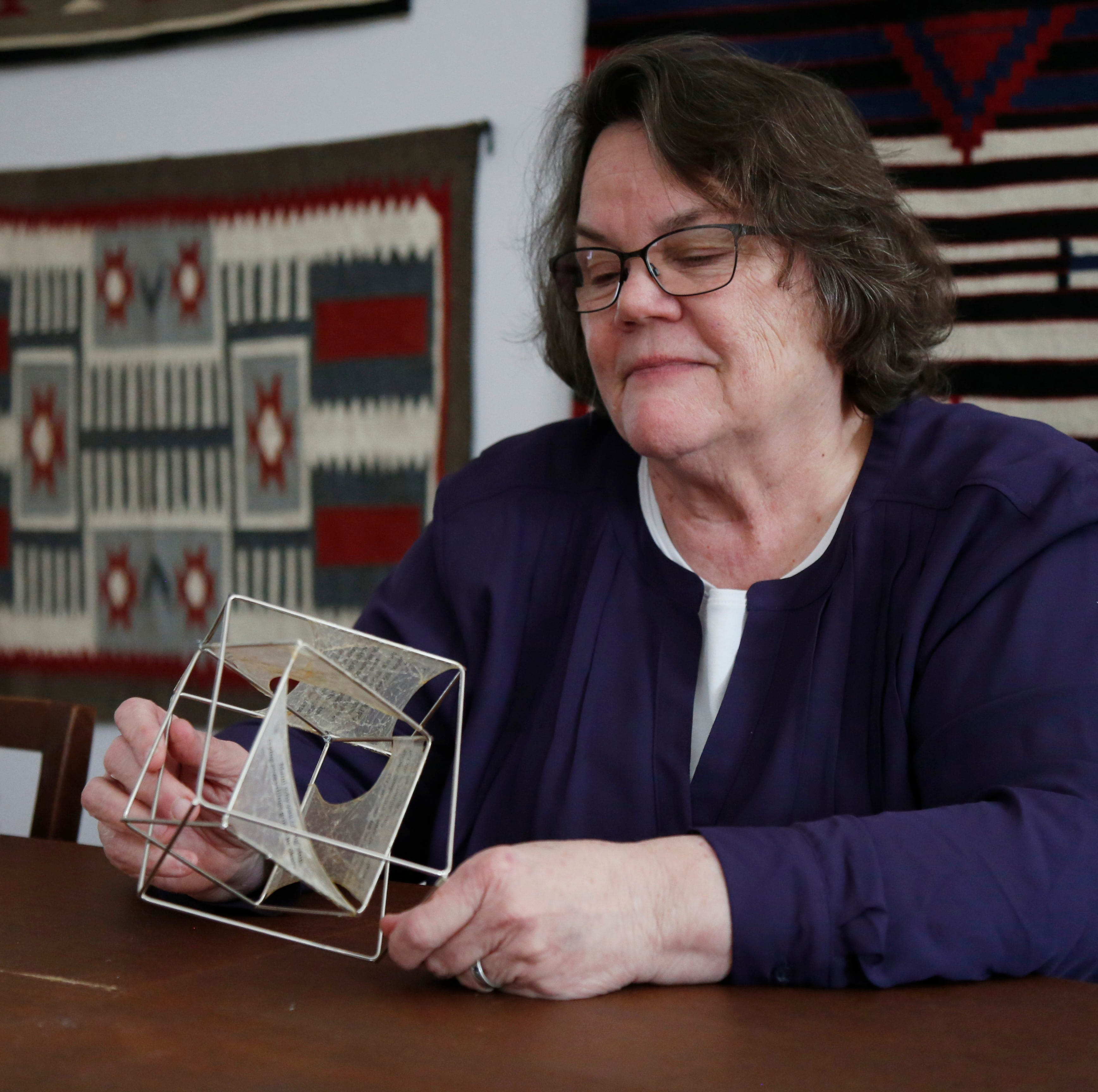 Book artist uses craft to help inmates, others express, heal themselves through words