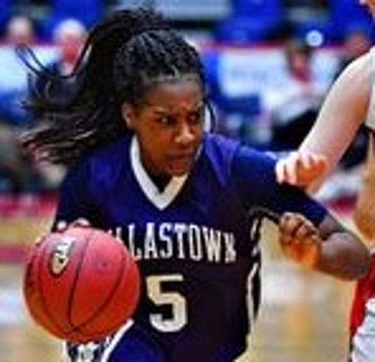 Dallastown's D'Shantae Edwards.