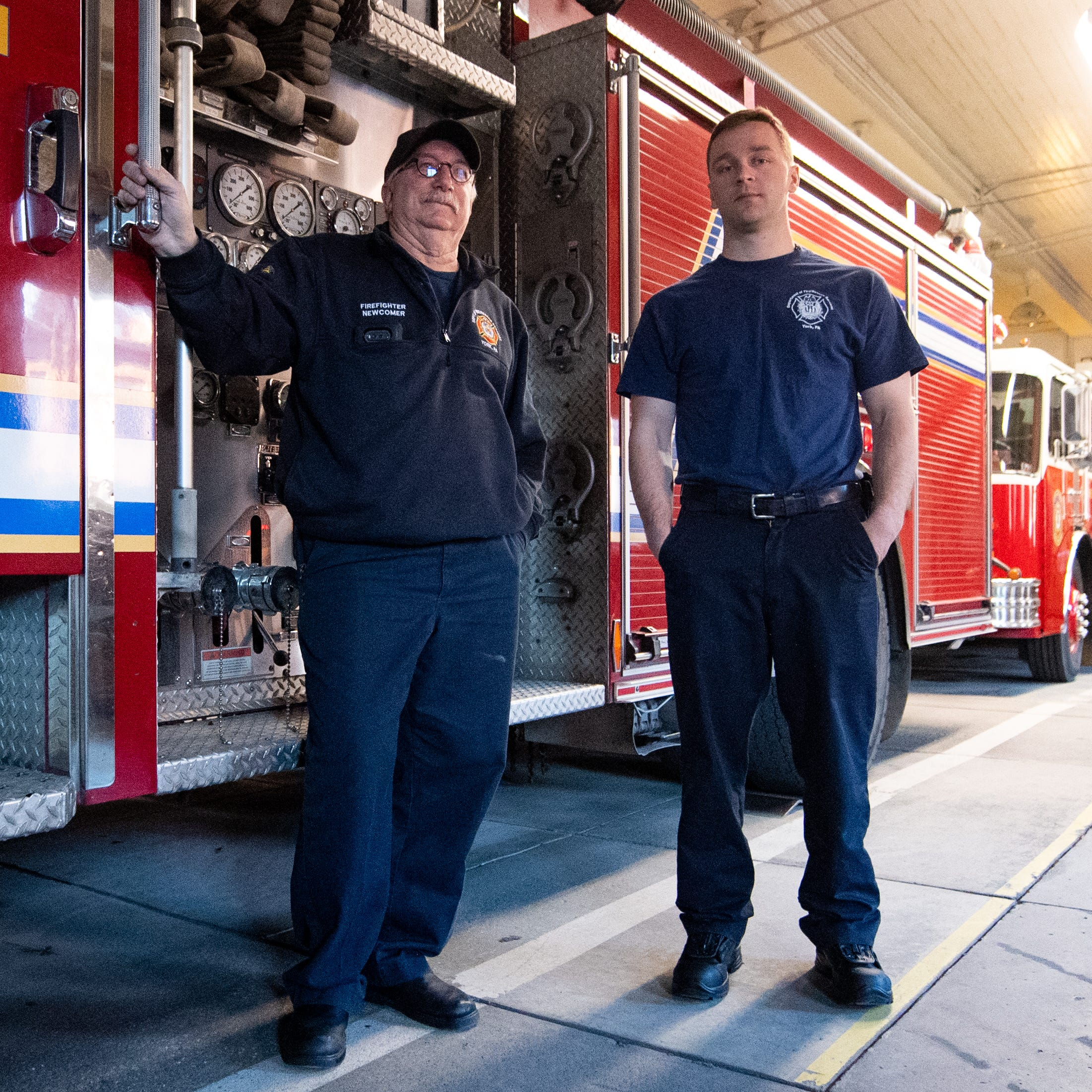 'They're still riding with us': Partners of fallen firefighters keep their memory alive