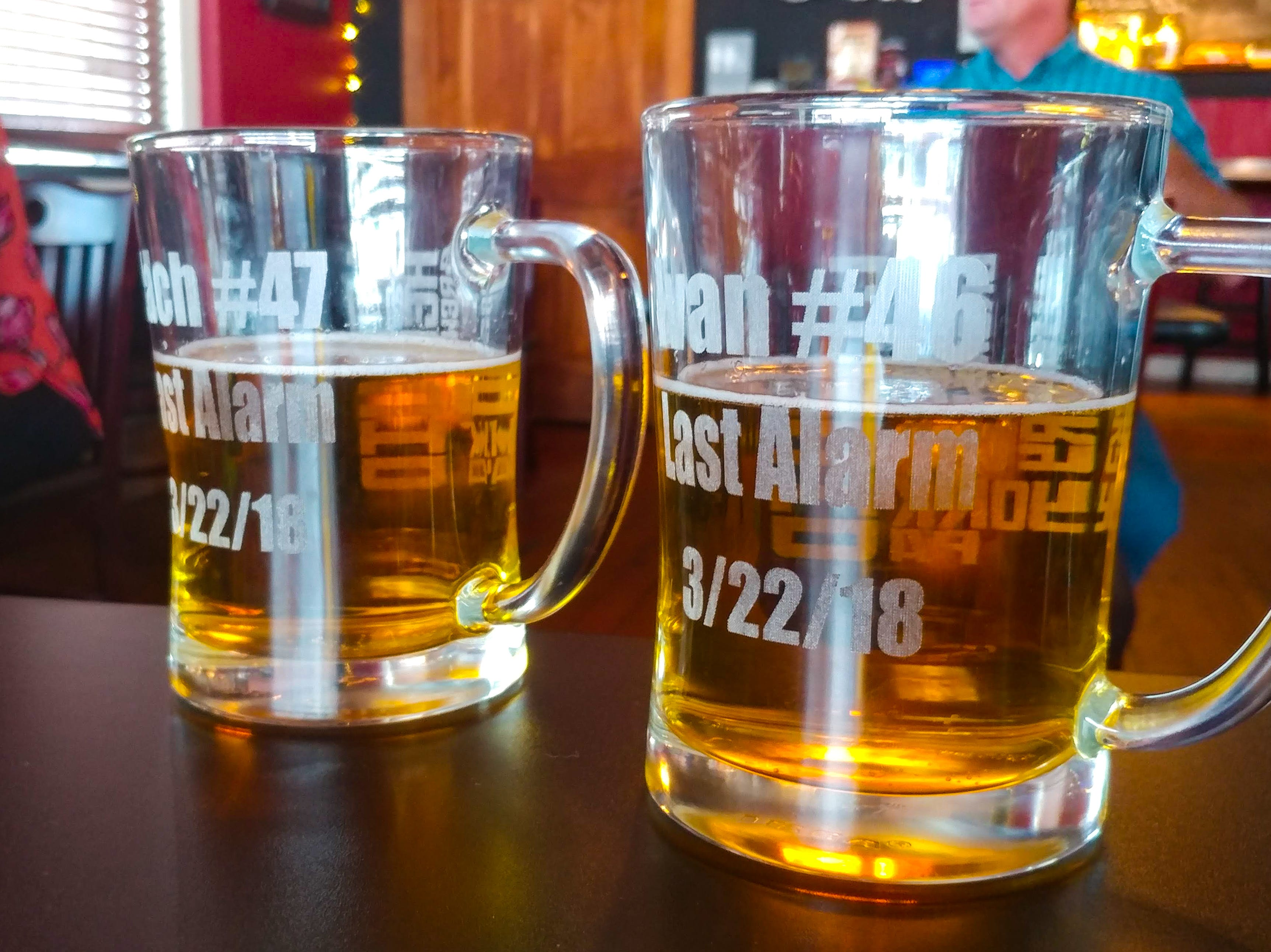 On the 22nd of every month, York City firefighters gather at the Local Hero brew pub to toast their fallen brothers. Two mugs dedicated to Ivan Flanscha and Zach Anthony are filled in their memory each time.
