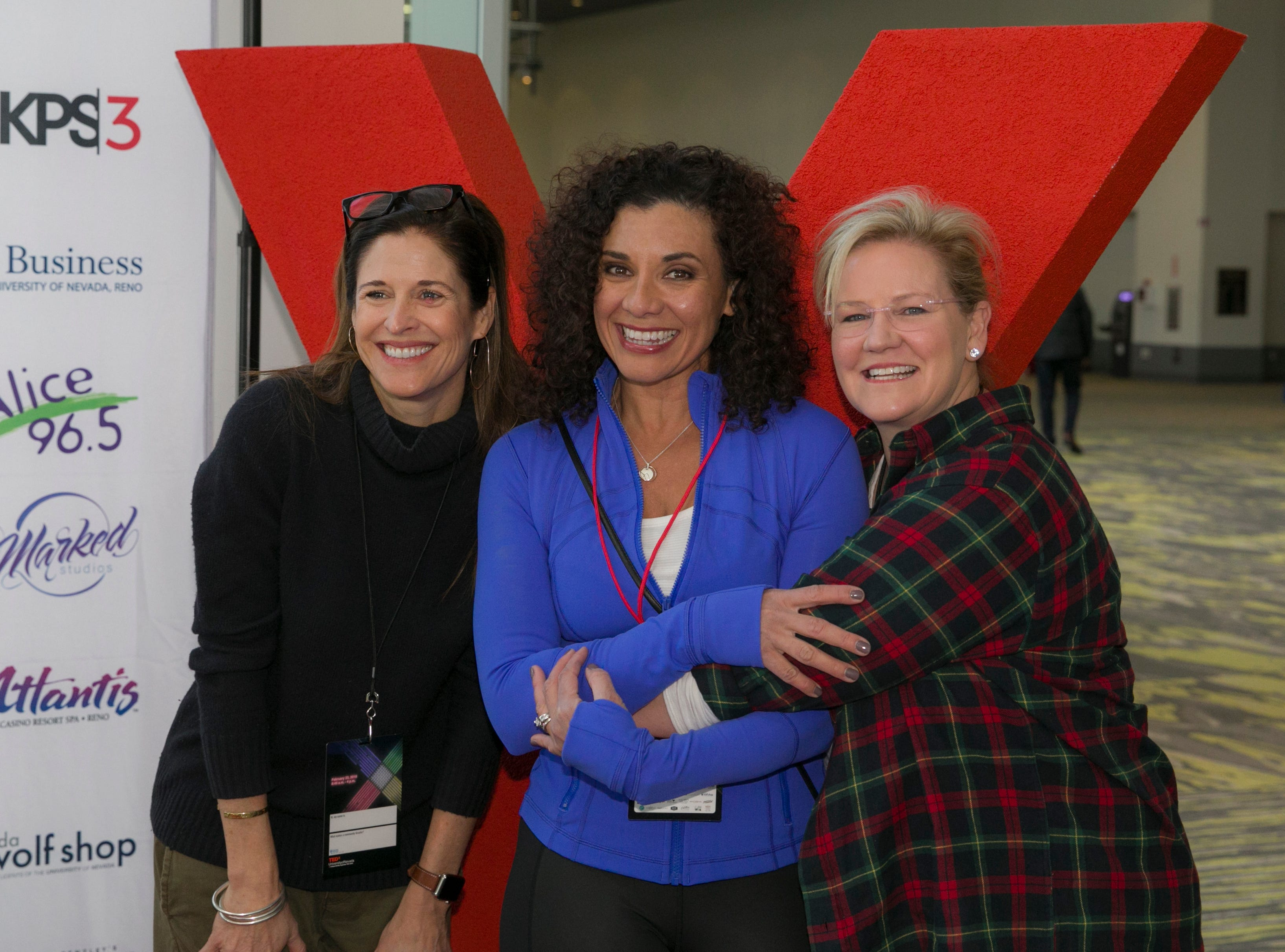 A photograph taken during TEDx University of Nevada 2019 at the Reno-Sparks Convention Center on Saturday, Feb. 23, 2019.