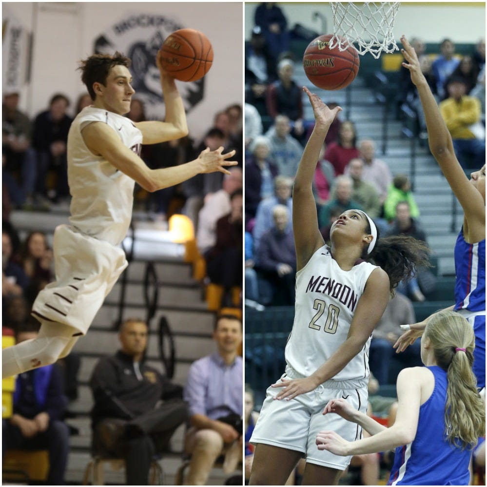 Pittsford Mendon  abuzz as boys, girls basketball teams shoot for state titles