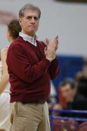 Pittsford Mendon girls basketball coach Todd Julien has led his team back to the state semifinals this spring.
