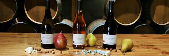 "This annual event features ""pear-ings"" of a wine flight, including our 2018 Estate Rosé of Pinot Noir, with latest releases with small bites of Northwest pears and artisan cheeses."