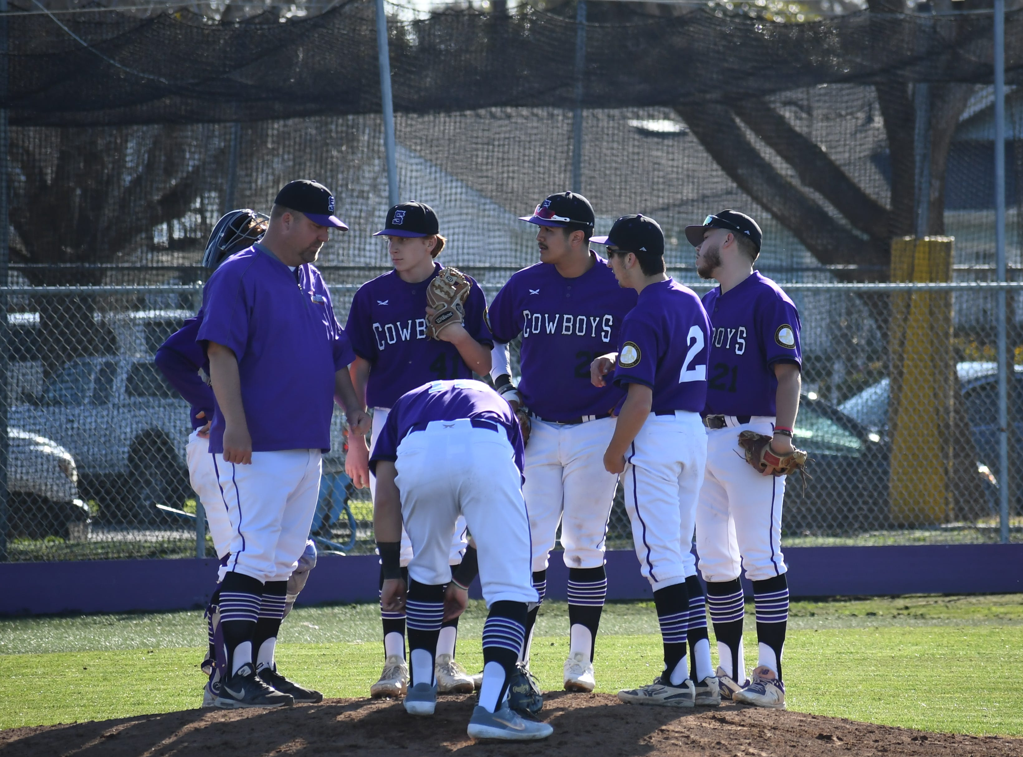 The Salinas Cowboys defeated the visiting St. Francis Sharks 9-3 Monday afternoon.