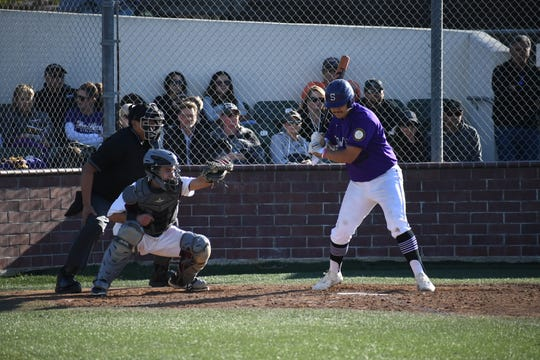 Salinas junior Max Farfan's been reliable at the plate for the Cowboys this season, going 3 for 7 with two home runs in last week's games.