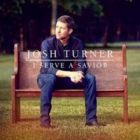 "Josh Turner's newest album ""I Serve A Savior"" is Christian-centric and features his wife and son."