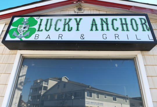 Lucky Anchor Bar & Grill located at 501 S. Baltimore Ave in Ocean City, Md.