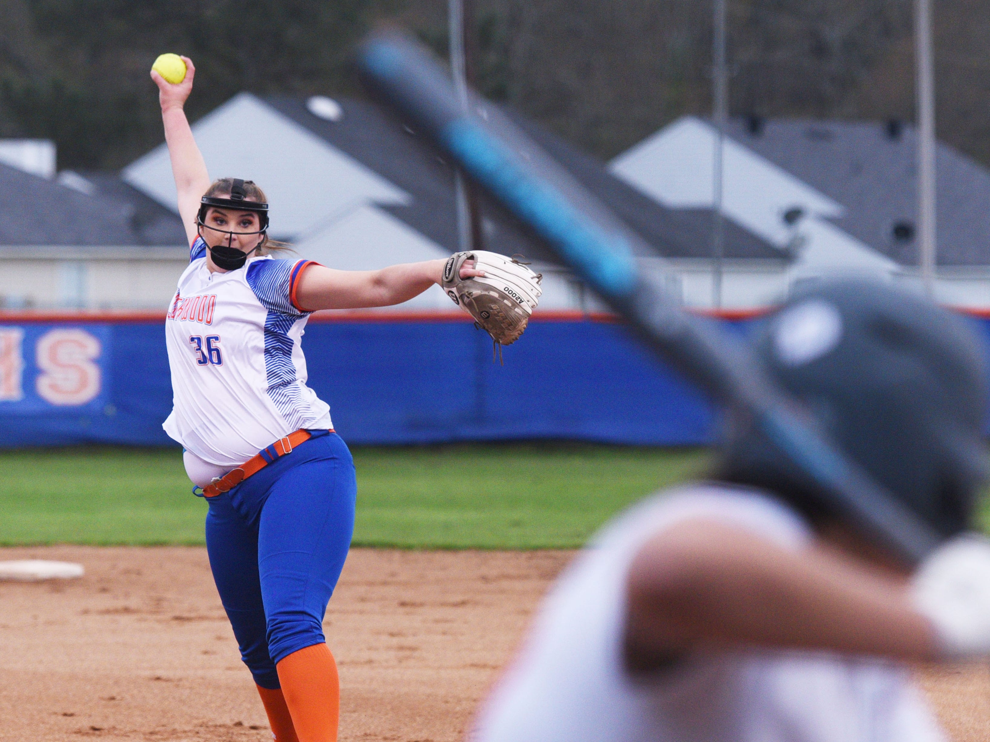 Southwood vs. Haughton in a District 1-5A softball game, Tuesday March 12, 2019 at Southwood High School.