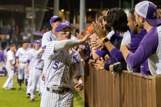 The NSU Demons defeated LSU, 3-1, on Tuesday night in Natchitoches.