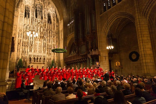 St. Thomas Choir of Men and Boys will perform at 7 p.m. March 19 at St. Mark's Cathedral in Shreveport.