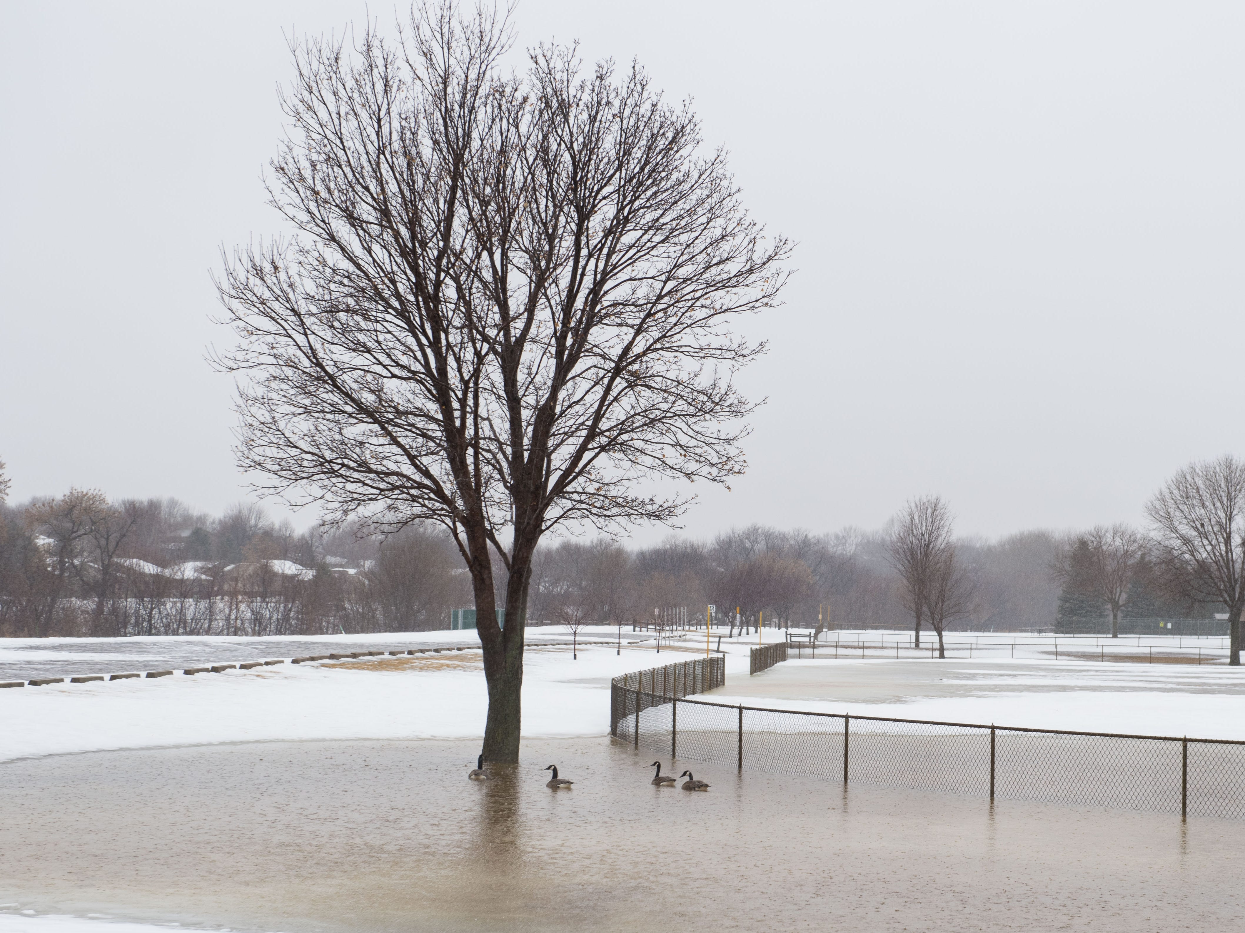 Dunham Park in Sioux Falls, S.D. is shown Wednesday, March 13, 2019.