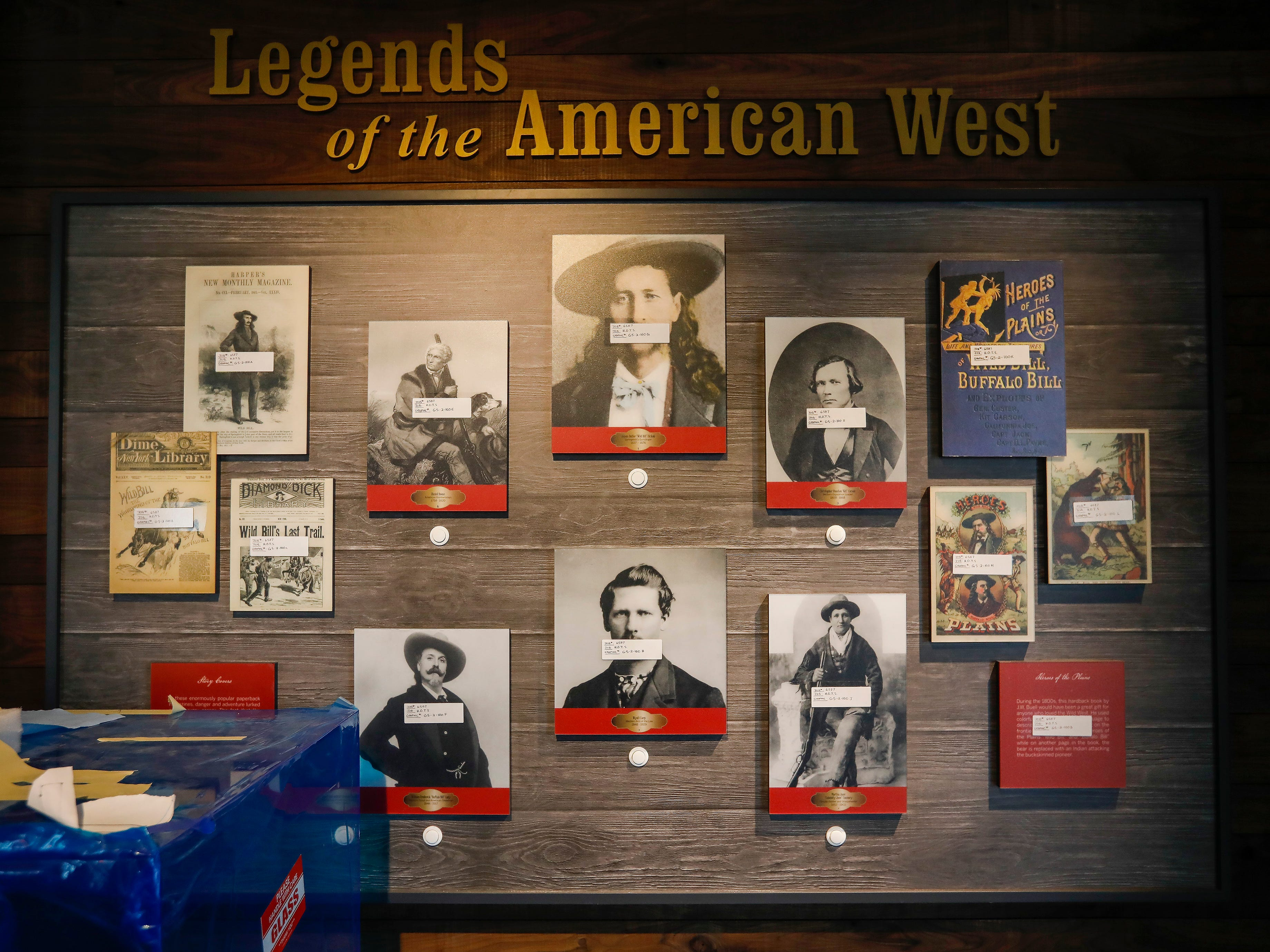 Audio commentary will accompany the historical photos on this display at the History Museum on the Square.