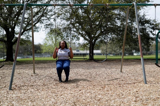 Raqiya Whitley, 17, a senior at Rickards High School went to elementary school with Cobi Mathis, also 17, who was shot and killed in broad daylight in the parking lot of an Old Bainbridge Road daycare Monday, Feb. 25, 2019.
