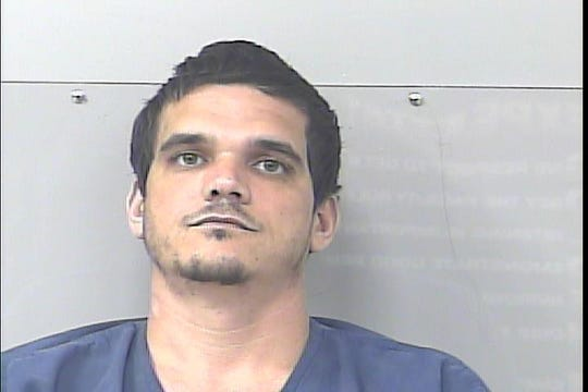 Matthew Nicolosi, 36, of Port St. Lucie, was arrested after deputies said he stole televisions and cash from homes where he was working as a handyman.