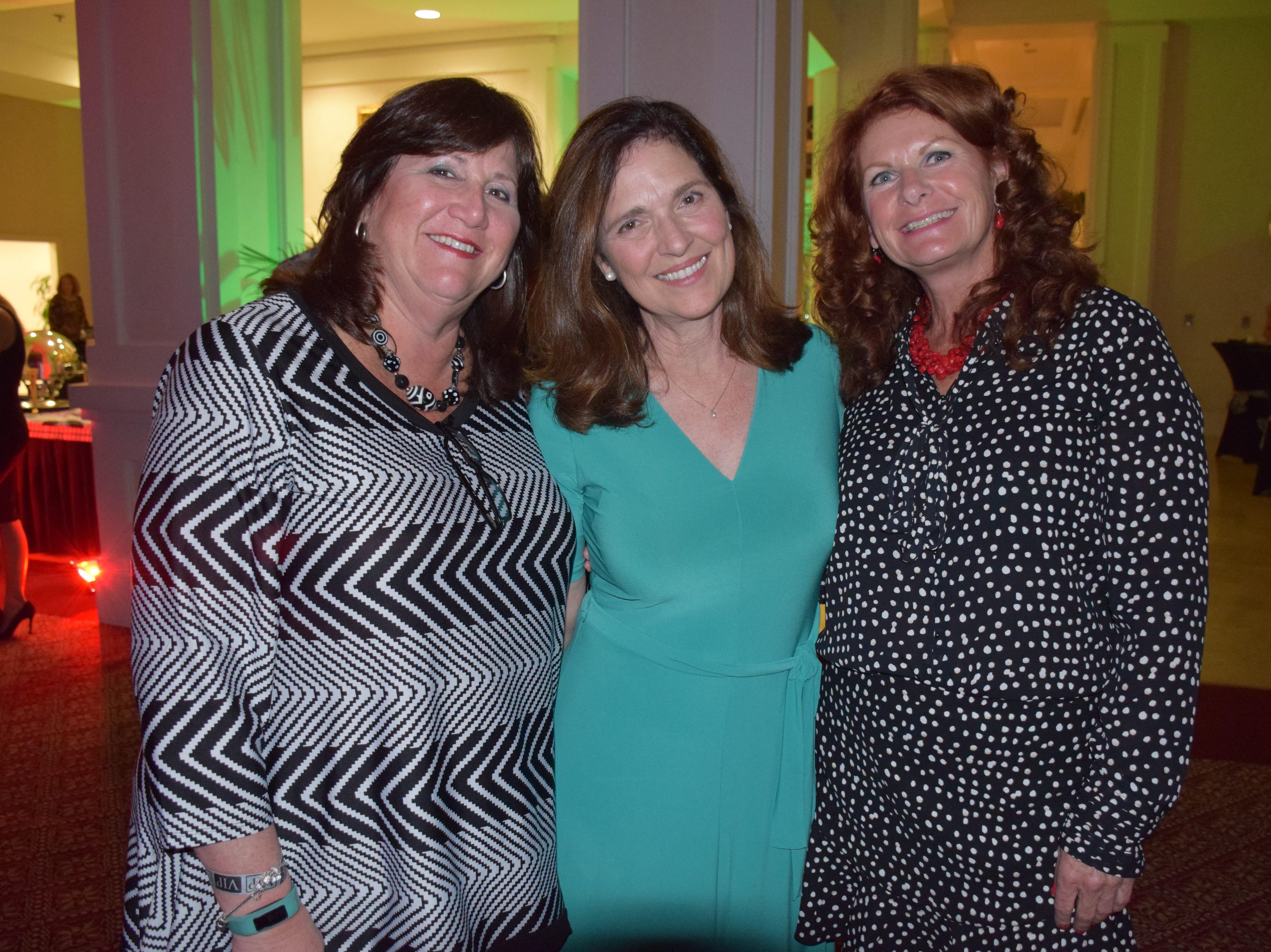 Cynthia Cox, Lynn McClure and Karen Deigl