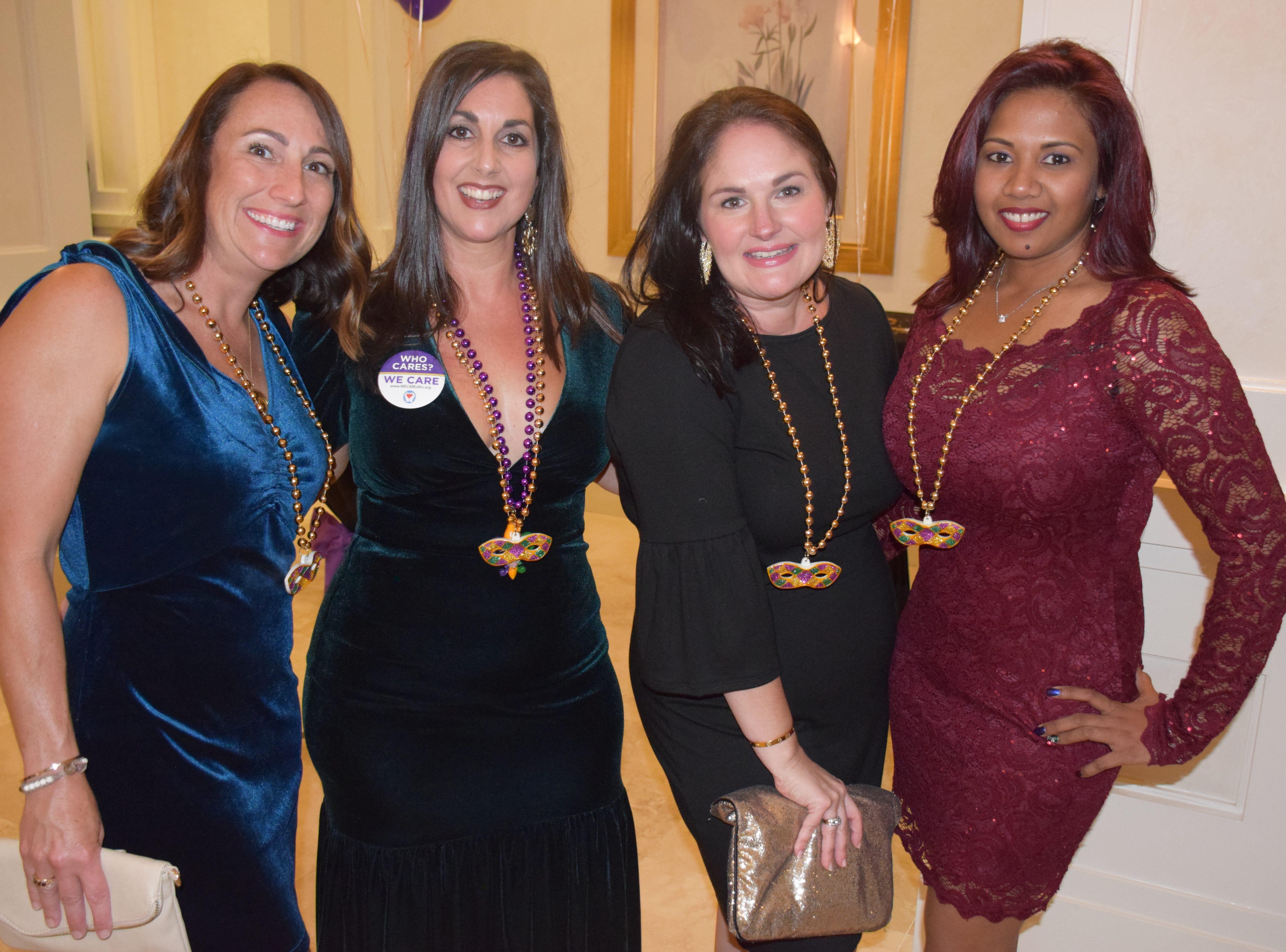 Farrah Lynn Kay Lemanski, Hala Laviolette, Kim Rennier and Diana Dwarika