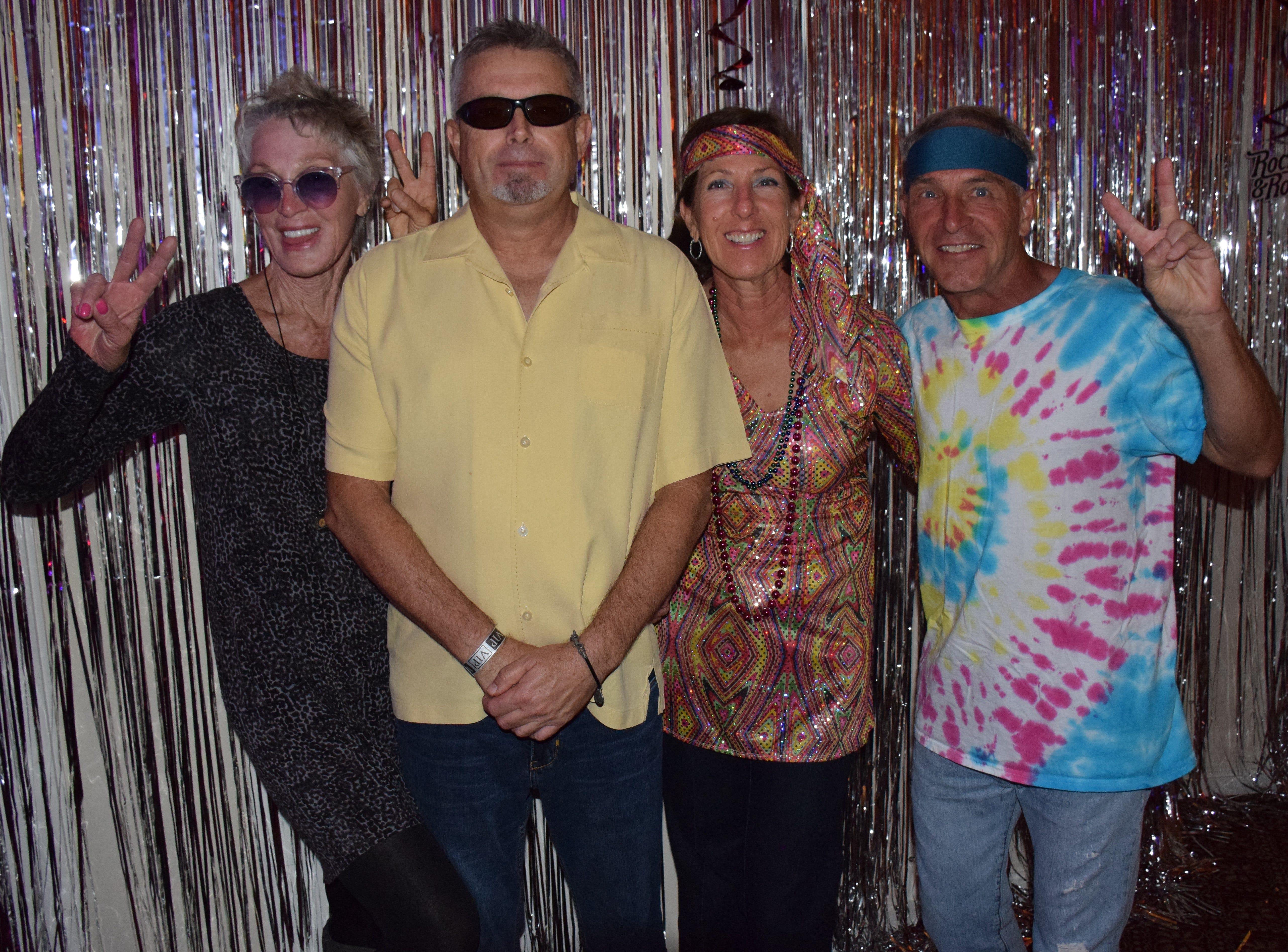 Karen Black, John Thompson and Libby & Jeff Hazard
