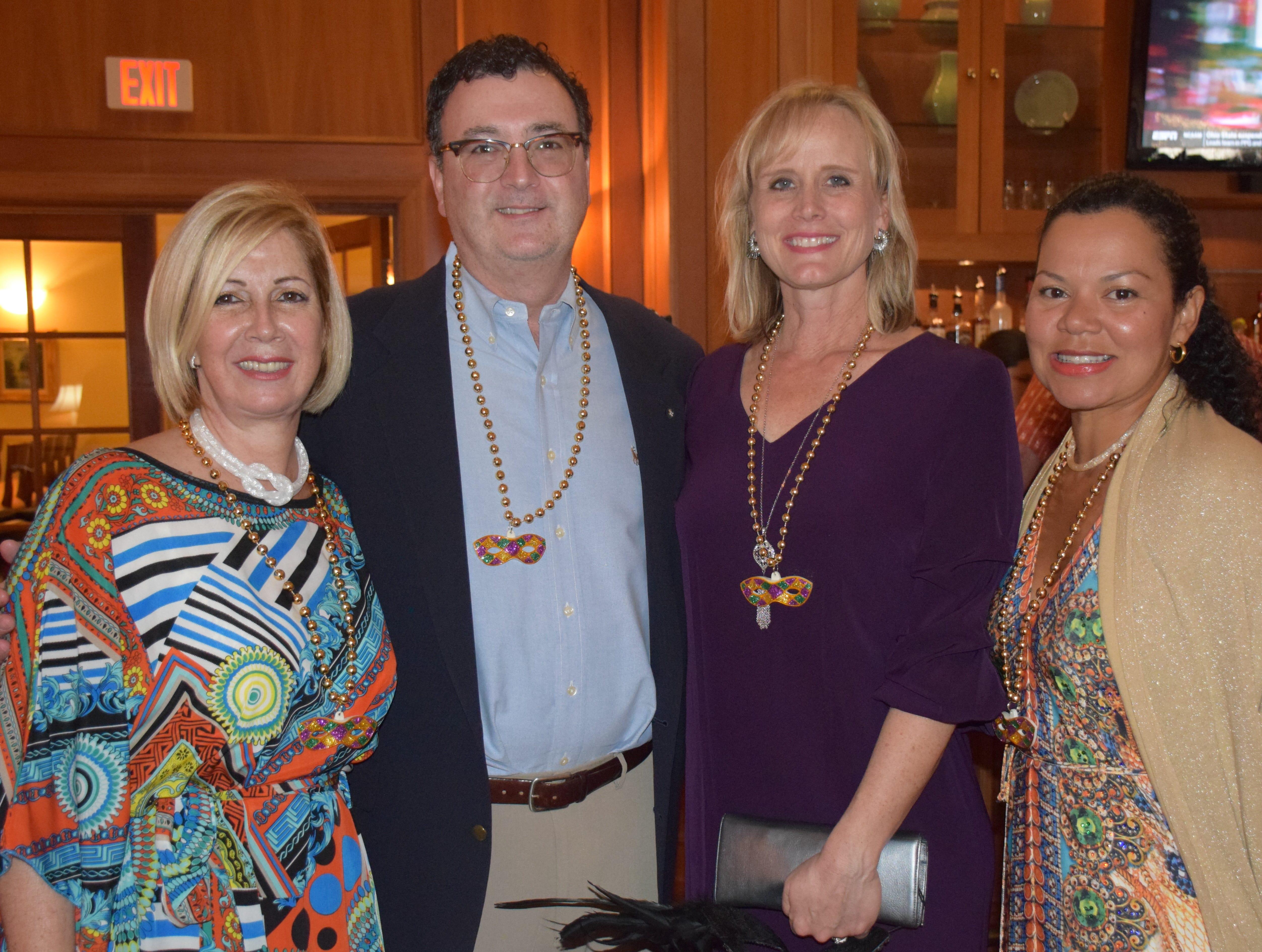 Jana Higginbottom, Dr William & Laura McGarry and Dr. Daniela Saphiro