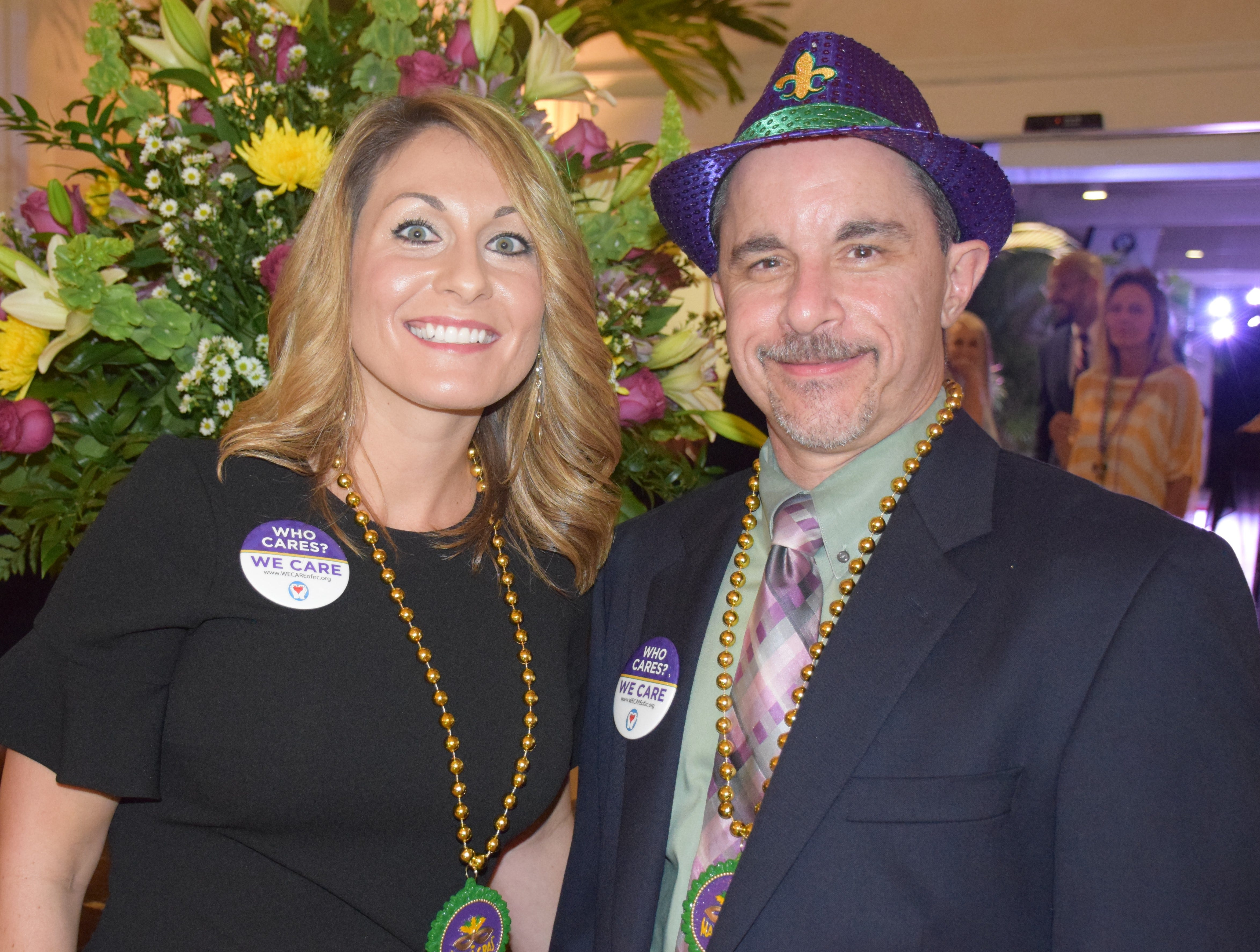 Co-chairs Dr. Brian Hartman and Elizabeth White