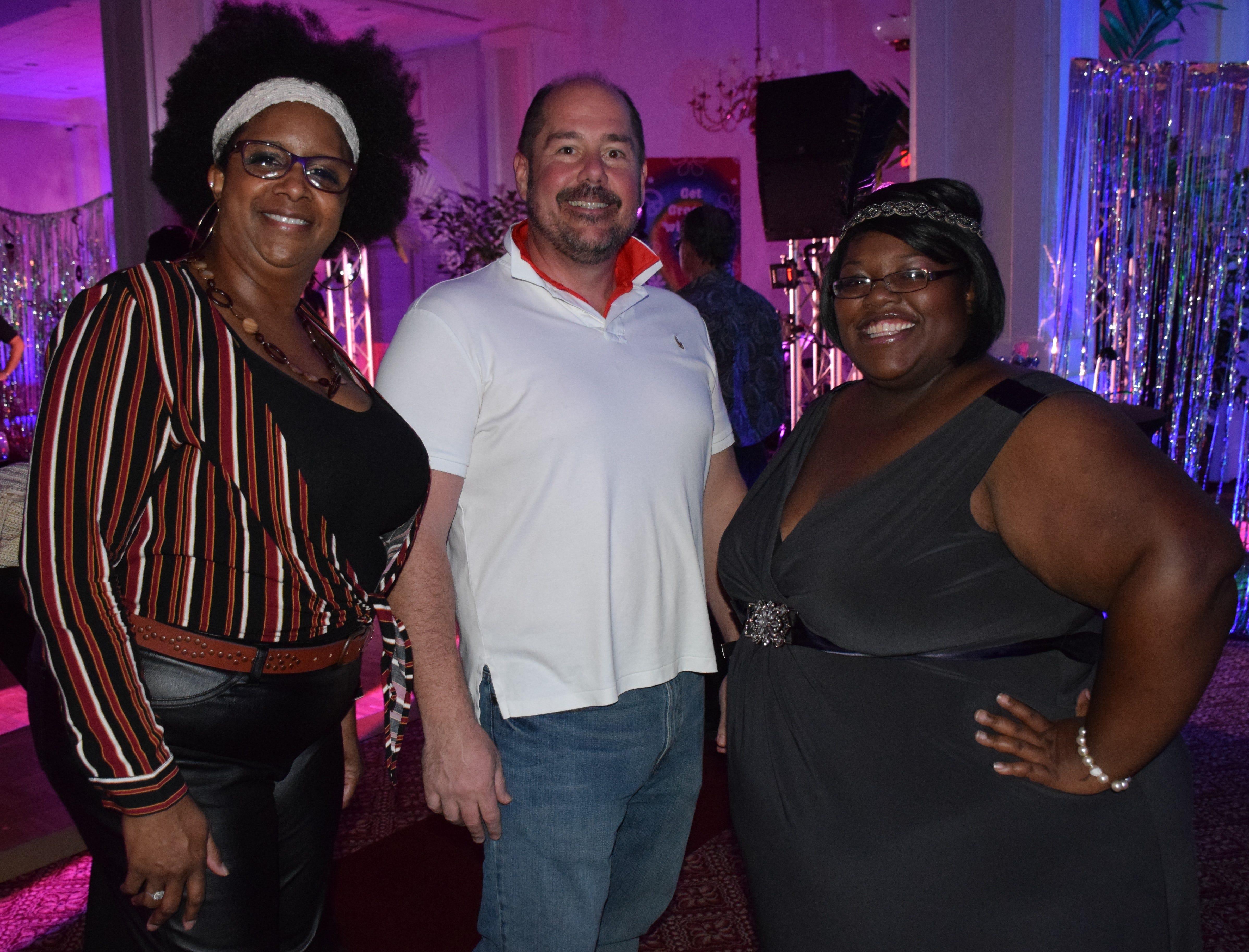 Denise Sudnick, Brett Hall and Khandis Cline