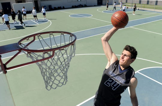 Jaime Jaquez Jr. scored 919 points in his senior season at Camarillo High, finishing second on the county's single-season scoring list to Simi Valley legend Don MacLean, who had 1,008 in 1987-88.