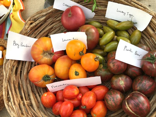 To taste a rainbow's worth of home-grown tomatoes this summer, be sure to get your plants in the ground in spring, says Scott Daigre, the Ojai-based co-founder of the seedling sale Tomatomania! Fruit from his test garden was featured during a tomato tasting party.