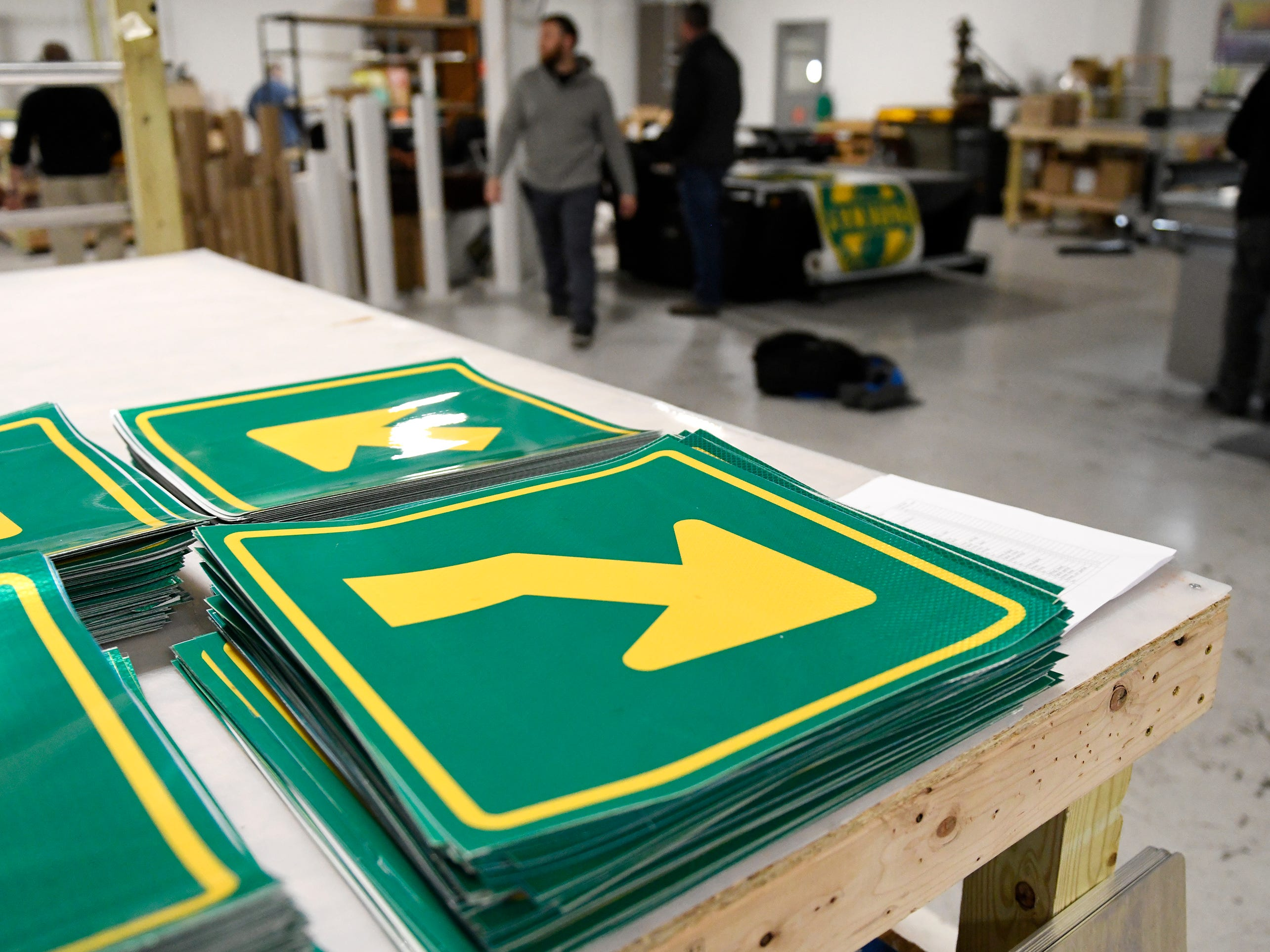 Garden State Highway Products, Inc. 140,000 square foot facility in Millville is owned by Sharon and Robert Green, who started working in the traffic sign industry in the late 1970s. The company is the largest traffic, street, specialty and overhead sign fabricator in the Eastern United States.