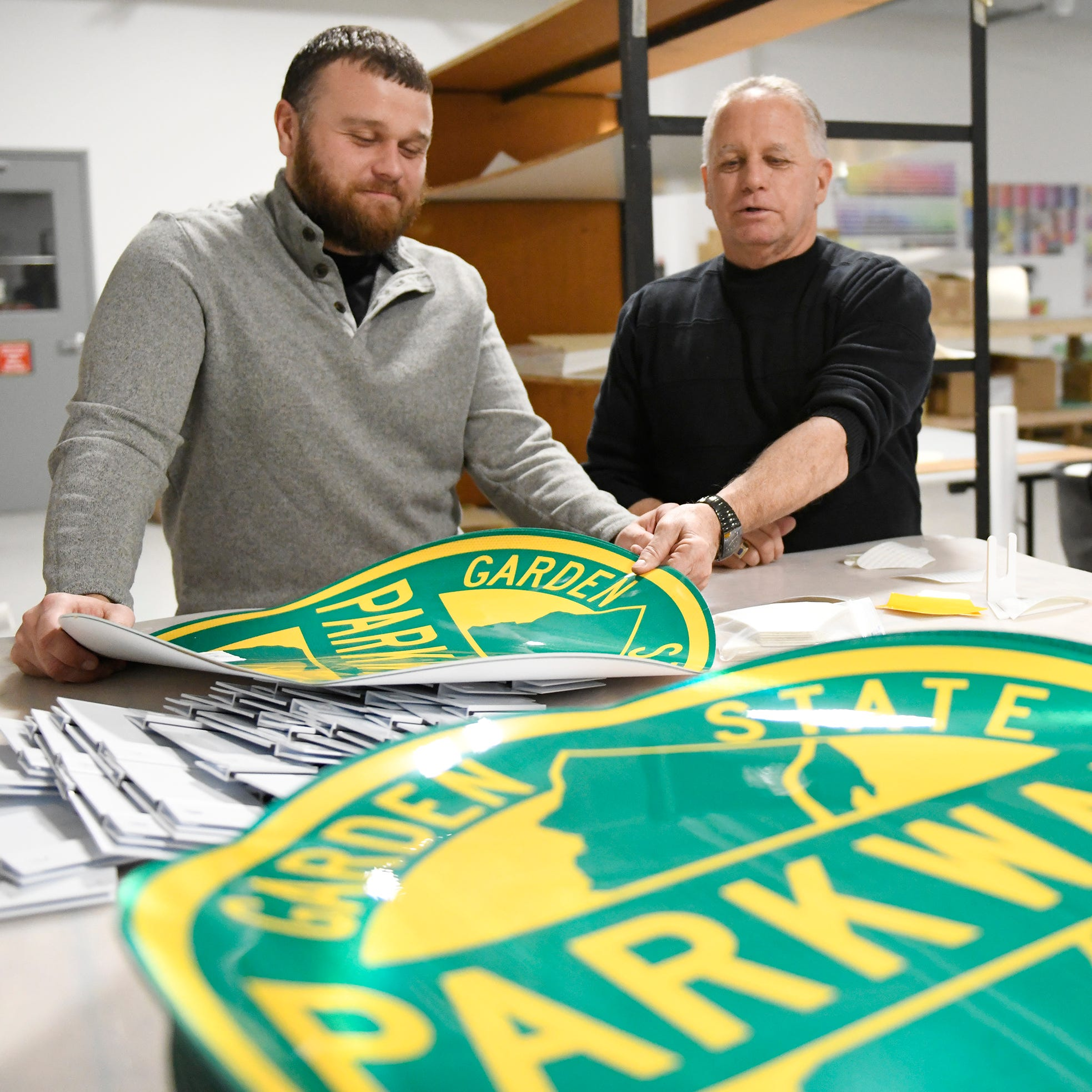 Millville sign business sees open road for new plastic