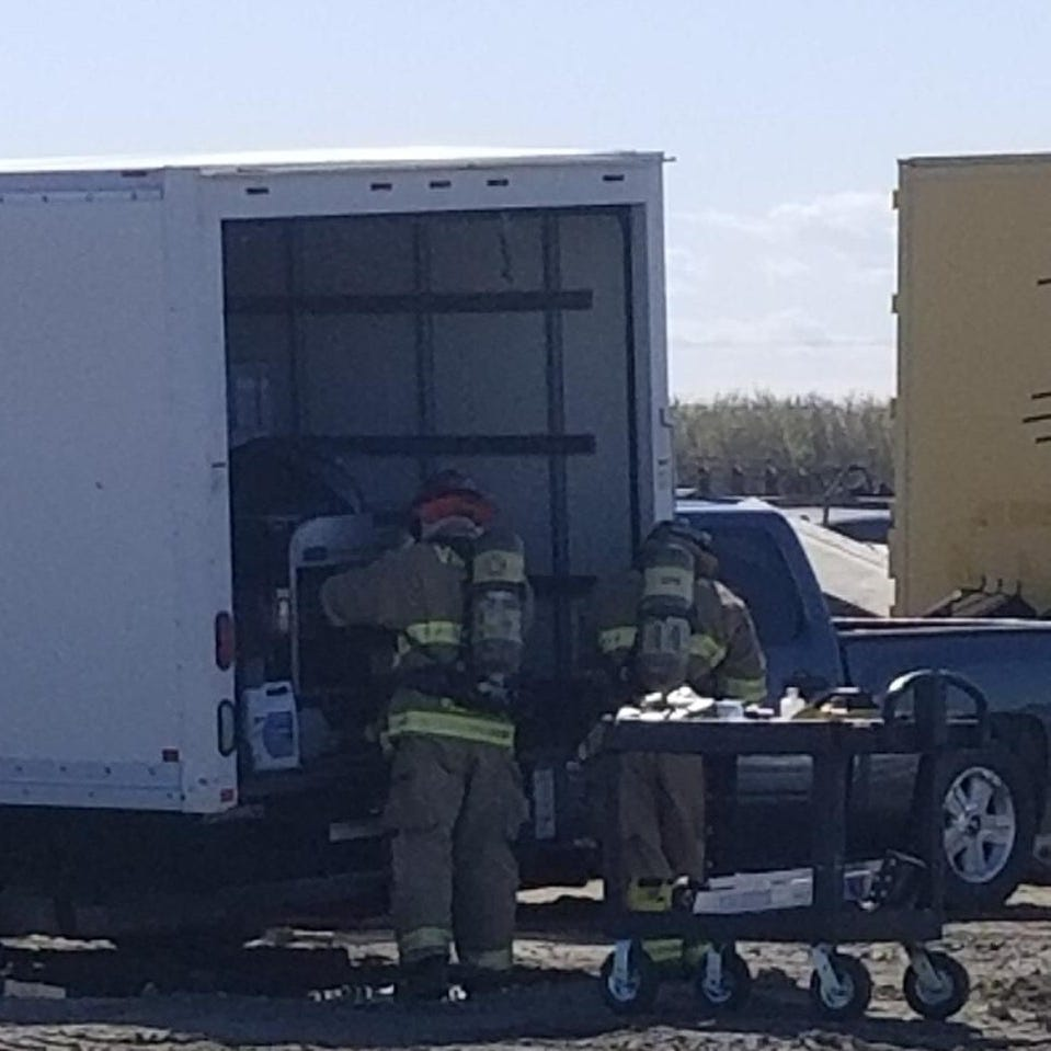 Stolen box truck prompts Visalia hazmat team call