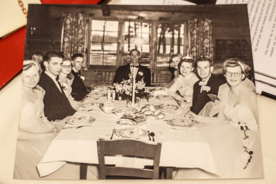 An old photo taken at Pinewood Supper Club in Mosinee.