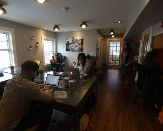 Work and Play common office space in South Orange, N.J. March 12, 2019.