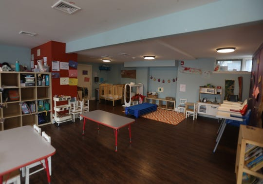 Work and Play offers child care center in South Orange, N.J. March 12, 2019.