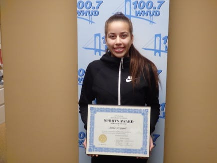 Ossining point guard Jaida Strippoli is the Con Edison Athlete of the Week