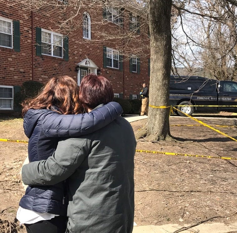 Woman found dead in Newport area apartment shot herself, police say; unknown how toddler died