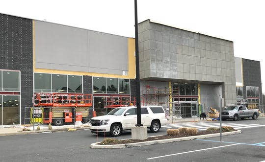 The site of the new Homesense at the Christiana Fashion Center.