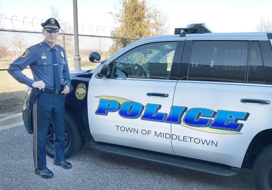 Middletown Police Chief Robert Kracyla in March.