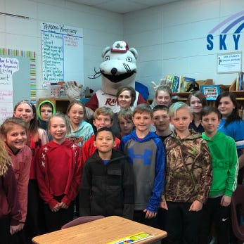 Rebecca Sturdy named Teacher of the Year by Rafters and Skyward